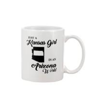 JUST A KANSAS GIRL IN AN ARIZONA WORLD Mug thumbnail