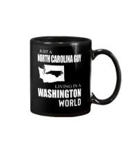 JUST A NORTH CAROLINA GUY IN A WASHINGTON WORLD Mug thumbnail