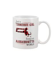 JUST A TENNESSEE GIRL IN A MASSACHUSETTS WORLD Mug thumbnail