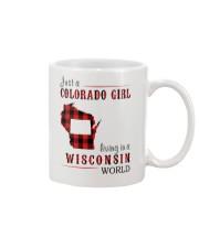 JUST A COLORADO GIRL IN A WISCONSIN WORLD Mug thumbnail