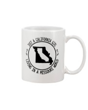 CALIFORNIA GIRL LIVING IN MISSOURI WORLD Mug thumbnail