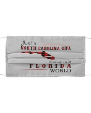 JUST A NORTH CAROLINA GIRL IN A FLORIDA WORLD Mask tile