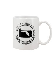FLORIDA GIRL LIVING IN PENNSYLVANIA WORLD Mug thumbnail