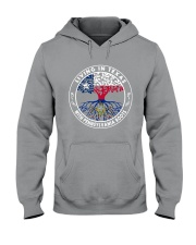 LIVING IN TEXAS WITH PENNSYLVANIA ROOTS Hooded Sweatshirt thumbnail