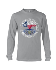 LIVING IN TEXAS WITH PENNSYLVANIA ROOTS Long Sleeve Tee thumbnail