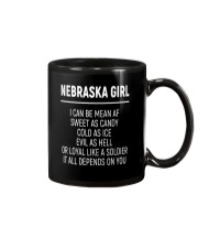NEBRASKA GIRL SWEET AS CANDY Mug thumbnail