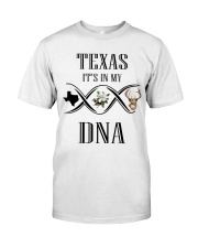 TEXAS IT'S IN MY DNA Classic T-Shirt thumbnail