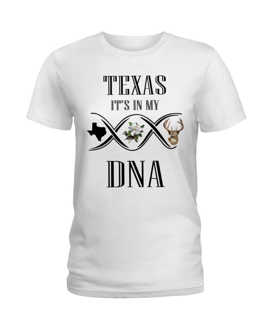 TEXAS IT'S IN MY DNA Ladies T-Shirt