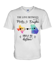 TEXAS GEORGIA THE LOVE MOTHER AND DAUGHTER V-Neck T-Shirt thumbnail