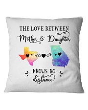 TEXAS GEORGIA THE LOVE MOTHER AND DAUGHTER Square Pillowcase thumbnail