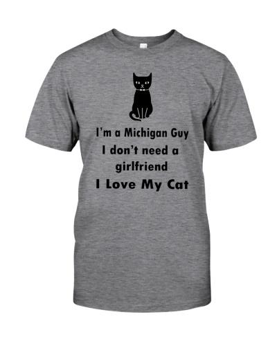 I'M A MICHIGAN GUY - I LOVE MY CAT