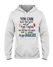 YOU CAN TAKE THE GIRL OUT OF WEST VIRGINIA Hooded Sweatshirt thumbnail