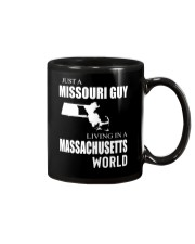 JUST A MISSOURI GUY IN A MASSACHUSETTS WORLD Mug thumbnail