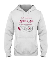 CALIFORNIA INDIANA THE LOVE MOTHER AND SON Hooded Sweatshirt thumbnail
