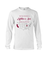 CALIFORNIA INDIANA THE LOVE MOTHER AND SON Long Sleeve Tee thumbnail