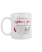 CALIFORNIA INDIANA THE LOVE MOTHER AND SON Mug back