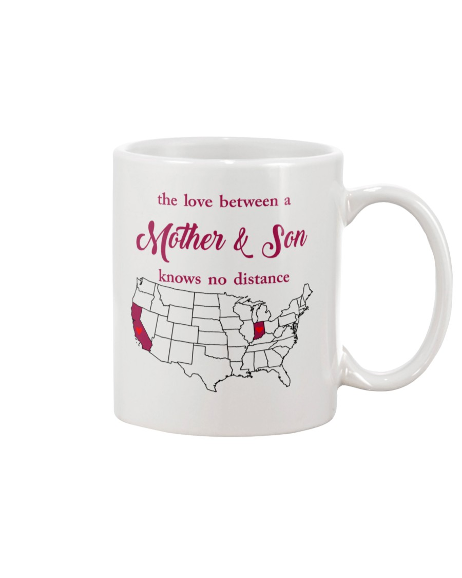 CALIFORNIA INDIANA THE LOVE MOTHER AND SON Mug