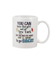 YOU CAN TAKE THE GIRL OUT OF NEW YORK Mug thumbnail