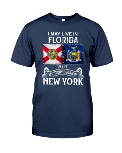 LIVE IN FLORIDA BEGAN IN NEW YORK