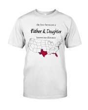 FLORIDA TEXAS FATHER AND DAUGHTER Classic T-Shirt thumbnail