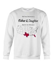 FLORIDA TEXAS FATHER AND DAUGHTER Crewneck Sweatshirt thumbnail