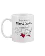 FLORIDA TEXAS FATHER AND DAUGHTER Mug back
