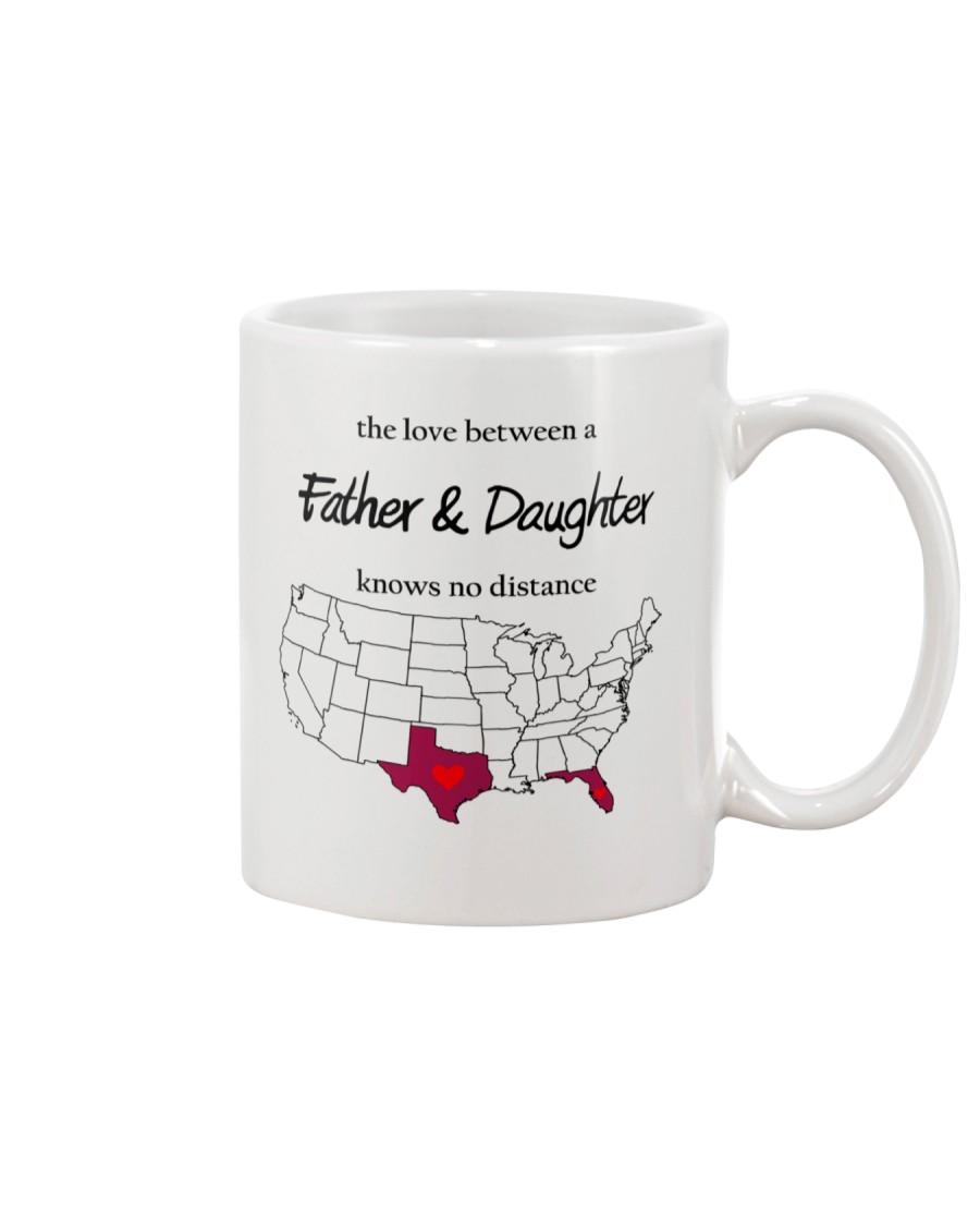 FLORIDA TEXAS FATHER AND DAUGHTER Mug
