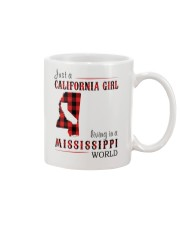 JUST A CALIFORNIA GIRL IN A MISSISSIPPI WORLD Mug thumbnail