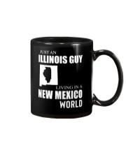 JUST AN ILLINOIS GUY IN A NEW MEXICO WORLD Mug thumbnail