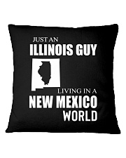 JUST AN ILLINOIS GUY IN A NEW MEXICO WORLD Square Pillowcase thumbnail