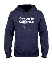 SAY YES TO  CALIFORNIA Hooded Sweatshirt thumbnail