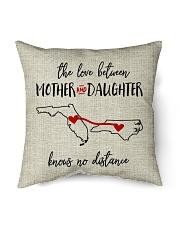 """FLORIDA NORTH CAROLINA-MOTHER AND DAUGHTER Indoor Pillow - 16"""" x 16"""" back"""