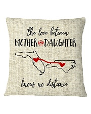 FLORIDA NORTH CAROLINA-MOTHER AND DAUGHTER Square Pillowcase tile
