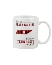 JUST AN ALABAMA GIRL IN A TENNESSEE WORLD Mug thumbnail