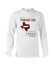 JUST A TENNESSEE GIRL IN A TEXAS WORLD Long Sleeve Tee thumbnail