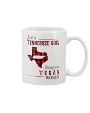 JUST A TENNESSEE GIRL IN A TEXAS WORLD Mug thumbnail