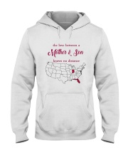 FLORIDA INDIANA THE LOVE MOTHER AND SON Hooded Sweatshirt thumbnail