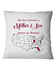 FLORIDA INDIANA THE LOVE MOTHER AND SON Square Pillowcase thumbnail