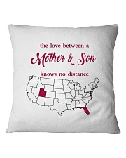 FLORIDA UTAH THE LOVE MOTHER AND SON Square Pillowcase thumbnail