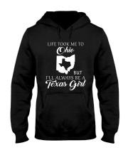 LIFE TOOK ME 2 OHIO - TEXAS Hooded Sweatshirt thumbnail