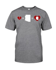 HEART AND MAP ARIZONA Classic T-Shirt thumbnail