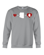 HEART AND MAP ARIZONA Crewneck Sweatshirt thumbnail