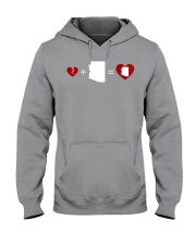 HEART AND MAP ARIZONA Hooded Sweatshirt thumbnail