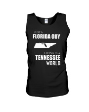JUST A FLORIDA GUY IN A TENNESSEE WORLD Unisex Tank thumbnail