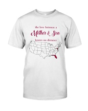 FLORIDA MARYLAND THE LOVE MOTHER AND SON Classic T-Shirt thumbnail