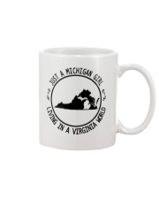 MICHIGAN GIRL LIVING IN VIRGINIA WORLD Mug thumbnail