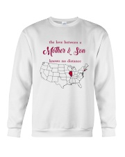 ILLINOIS CONNECTICUT THE LOVE MOTHER AND SON Crewneck Sweatshirt thumbnail