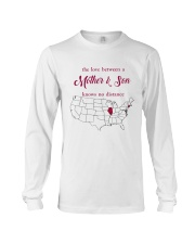 ILLINOIS CONNECTICUT THE LOVE MOTHER AND SON Long Sleeve Tee thumbnail
