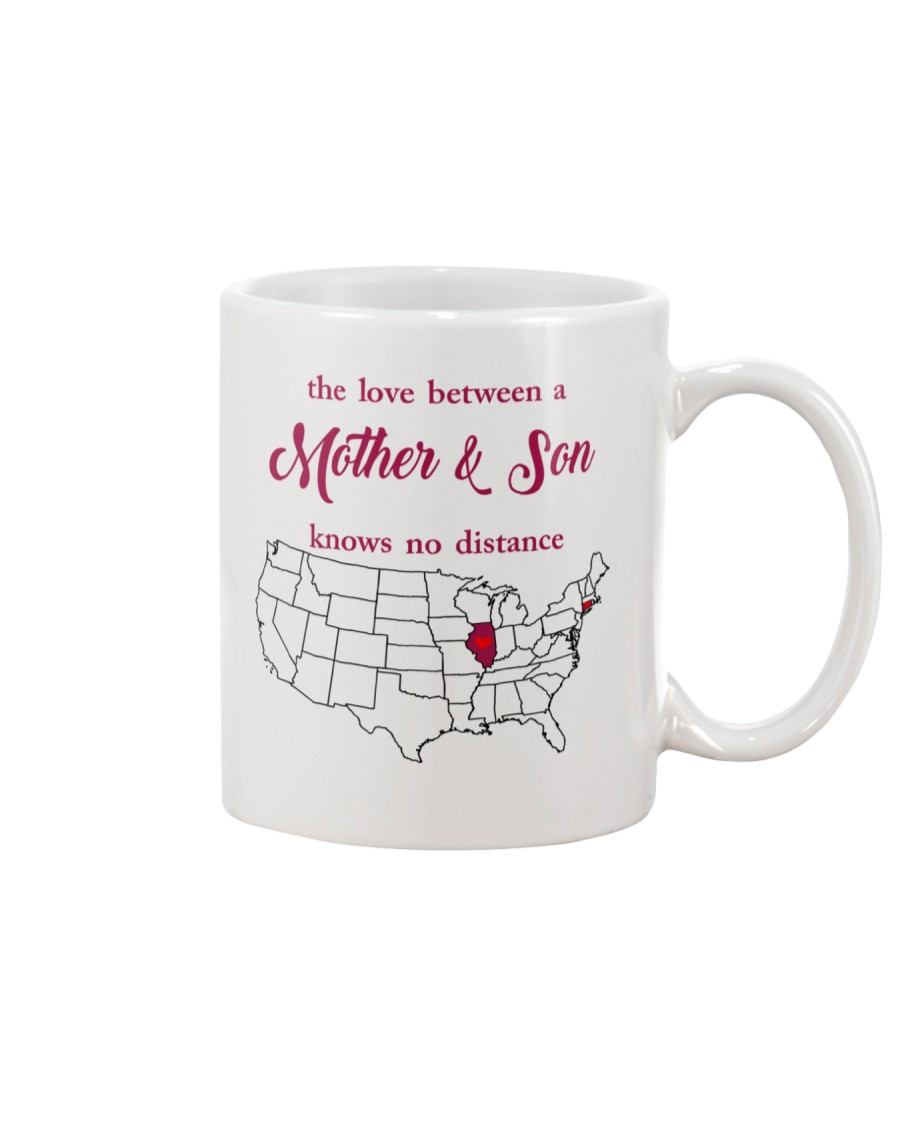 ILLINOIS CONNECTICUT THE LOVE MOTHER AND SON Mug