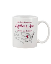 ILLINOIS CONNECTICUT THE LOVE MOTHER AND SON Mug front